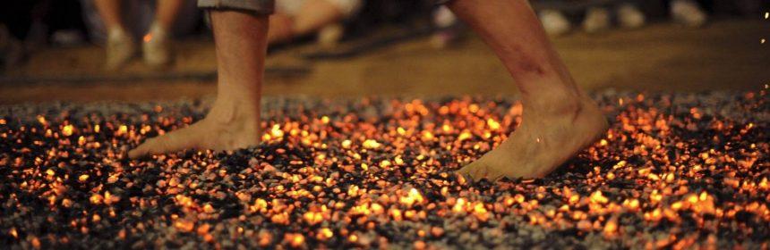 Walking on Burning Coal