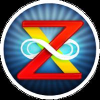 ZOX Logo 200x Round Button